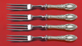 King Richard by Towle Sterling Silver Fruit Fork Set 4-Piece Custom Made... - $279.00