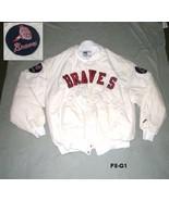 Atlanta Braves Sz XL White Winter Jacket Made i... - $18.99