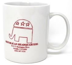 Republikaner Hauptsitz Arcadia Kan.Elefant Kaffee Tasse - £11.23 GBP