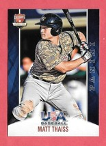 2015 Matt Thaiss 20 Card Lot Panini USA Baseball Rookie - Los Angeles An... - $14.24