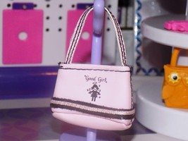 Barbie Dress up accessories good girl pink & black purse handbag clutch ... - $5.99