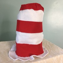 Cat In The Hat Red White Striped Top Hat Felt Dr Seuss Halloween Costume... - €10,93 EUR