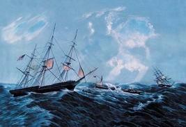 Steam Wreck by Nathaniel Currier - Art Print - $19.99+
