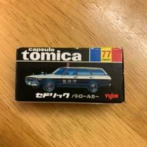 Tomica Nissan Cedric patrol car No.77 - $118.79