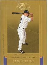 2005 Donruss Dioner Navarro Serial # 25/50 Yankees & Dodgers - $19.99
