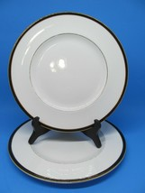 """MINTON  Saturn Dinner Plates Set of 2 Blue 10.5"""" Preowned - $15.51"""