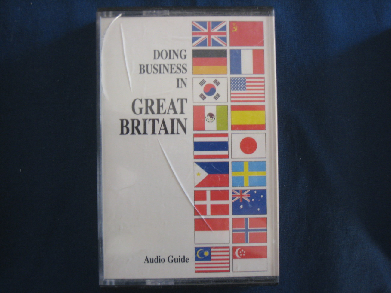 International Business Guide, Great Britain, Audio Cassette