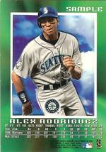 1997 Skybox Seattle Mariners Alex Rodriguez Promo Sample Card - $9.99