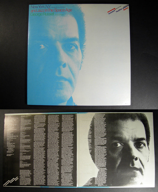 GEORGE RUSSELL New York NY & Jazz in the Space Age 2xLP