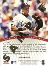 1997 Donruss Signature Chicago White Soxs Frank Thomas Promo Sample Rare - $9.99