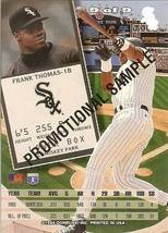1994 DONRUSS CHICAGO WHITE SOXS FRANK THOMAS PROMO SAMPLE RARE - $9.99