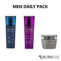 Tec Italy Men Daily Pack: Shampoo Tonico 10.1 Oz. + Balsami Totale 10.1 ... - $38.72