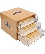DMC Wooden Floss Cabinet 12.75 x 9.75 x 14.5 floss storage DMC - $142.50