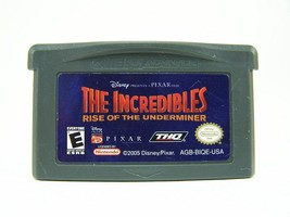 The Incredibles: Rise of the Underminer (Nintendo Game Boy Advance, 2005) - $2.93