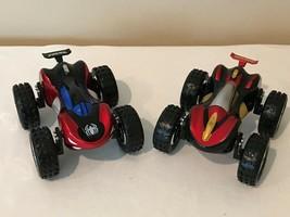 Marvel Spiderman and Iron Man, Set of 2 Superhero Flip Reversible Cars Toys - $19.99