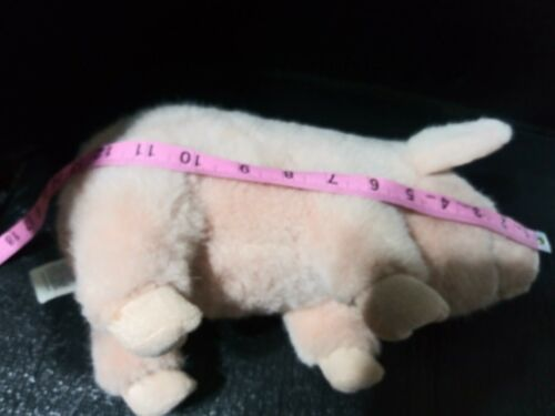 "RARE VINTAGE SOFT PINK FIESTA PLUSH DOLL FIGURE 17""  PIG  ANIMAL TOY"