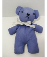 Aroma Home National Trust microwaveable purple plush bear Hottie hot col... - $19.79
