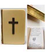 Church Of England Devotional Prayer Book 1930 Gilt Edge Antiquarian Oxfo... - $44.06