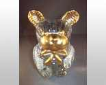 Glass bear with gold trim 001 thumb155 crop
