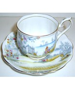 ROSEDALE Scenic ROYAL ALBERT China Cup & Saucer... - $15.00