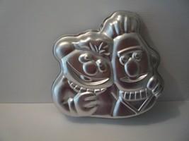 Wilton Bert and Ernie 1977 Sesame Cake Pan # 502-7423  - $6.92