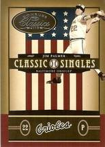 2005 DONRUSS BALTIMORE ORIOLES JIM PALMER SERIAL #73/400 - $2.50
