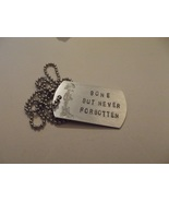 Fallen soldier memorial dog tag - $20.00