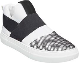 Steve Madden White Shoes NEW High Men's in Remote Top Slip 70 Neoprene On rZxdrqgw