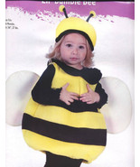 BUMBLE BEE Halloween PLUSH Costume Sz 12-24 Months NEW! - $14.99