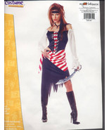 Ruby PIRATE Beauty  LARGE Halloween Costume ADULT New!! - $34.99