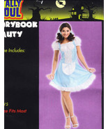 PRINCESS Storybook Beauty Halloween Costume ADULT Cute! - $14.99