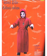 GHOUL ROBE Halloween Costume Fits to sz. 12 Grim Reaper - $6.00
