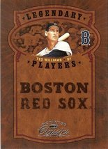 2005 donruss boston red soxs ted williams serial # 105/800 - $2.50