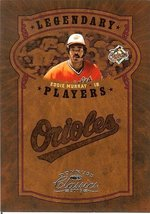 2005 donruss baltimore orioles eddie murray serial # 558/800 - $2.50