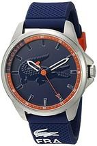 Lacoste Men's 2010842 Capbreton Analog Display Japanese Quartz Blue Watch - $251.19