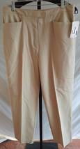 NWT Liz Claiborne Lizsport Stretch Flat Front Dress pants Size 14 - $28.71
