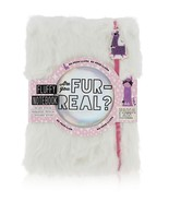 "Purple Lola Llama Fluffy 80 Page Notebook Are you Fur Real? 5.75 x 8"" - $19.79"