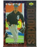 HOT!  SP! MICHAEL JORDAN ROOKIE! RARE ELECTRIC DIAMOND 1994 UPPER DECK #19 - $79.95