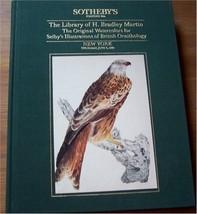 Sothebys Bradley Martin Library British ORNITHOLOGY Selby's Original Wat... - $16.81