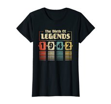 Funny Shirts - Retro The Birth Of Legend 1942 76th Birthday Gift 76 yrs old Wowe image 3