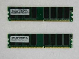 2GB (2X1GB) MEMORY FOR HP PAVILION A540.DK A540.FR A545C-B A560.NL A600N