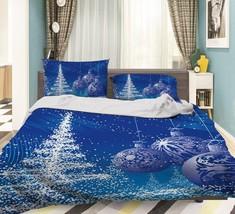 3D Christmas  Xmas 19 Bed Pillowcases Quilt Duvet Cover Set Single Queen King AU - $64.32+