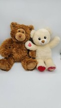 Lot of 2 Build a Bear National Teddy Bear Day 2019 Limited Edition fuzzy brown  - $19.99