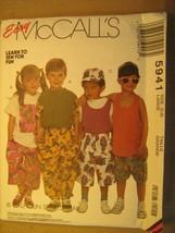 Uncut Sewing Pattern 1992 Mc Call's Large 5,6 5941 Shirt Top Pants Shorts [Z180] - $3.99