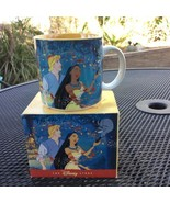 Vtg Walt Disney Store Classics Mug Pocahontas John Smith Cup Orig Box - $29.21