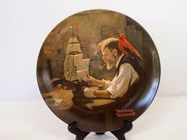 <>< Vintage collectore plate Norman Rockwell The Shipbuilder - $4.99