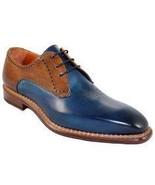Men's Handmade Brown Colour Leather Shoes, Men's Whole Cut Stylish Dress... - $144.99+