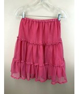 Hanna Andersson 140 10 Pink Tiered Mesh Tutu Ballerina Skirt - $14.99
