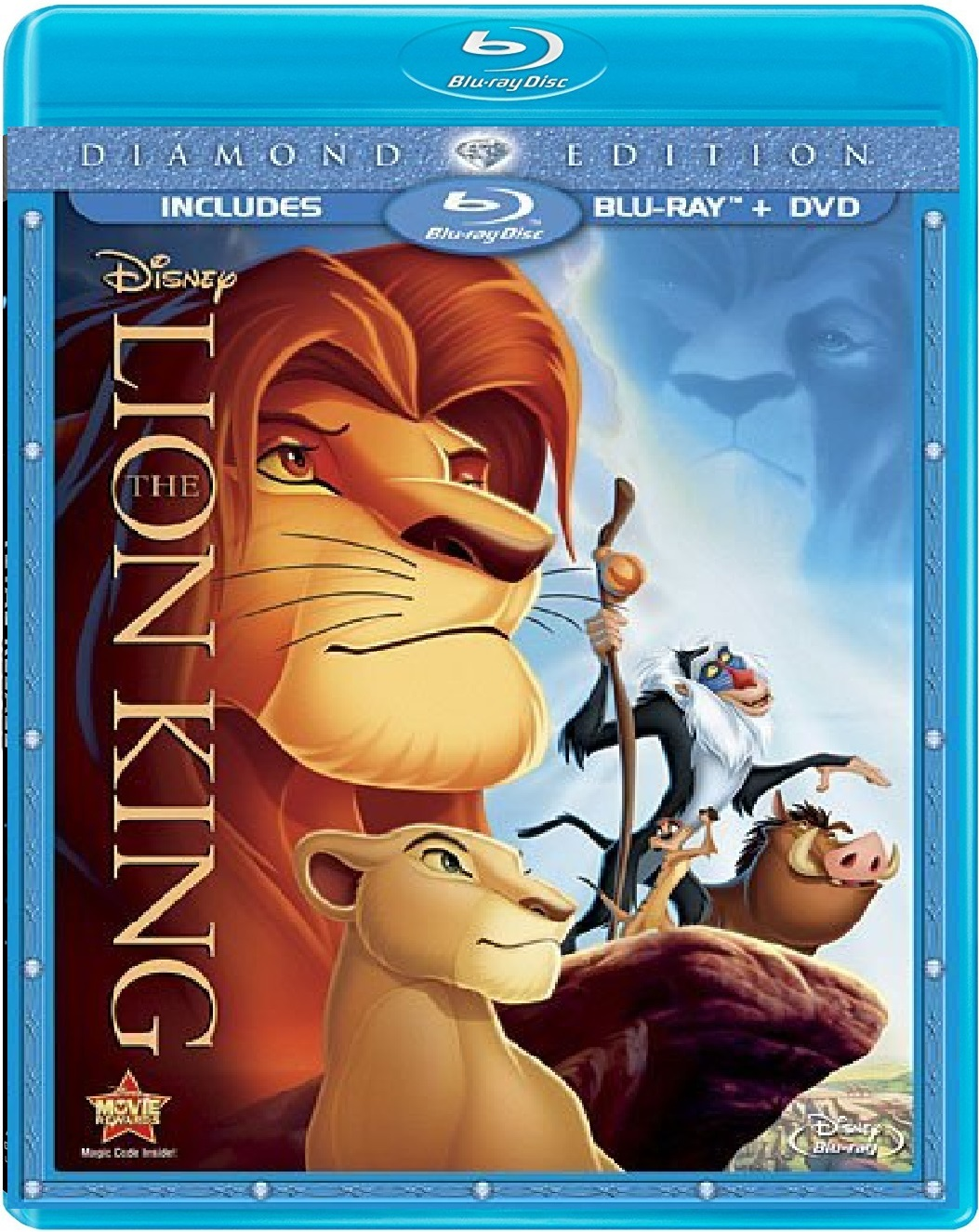 Disney The Lion King (Blu-ray/DVD, 2011, 2-Disc Set)