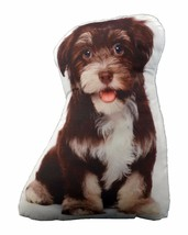 Puppy Dog Shaped Photo Decorative Accent Throw Pillow - $17.95